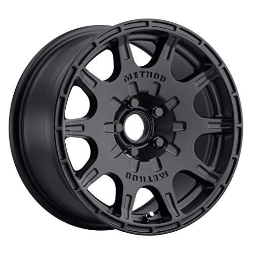 """Method Race Wheels 502 VT-SPEC 2 Matte Black 15x7 5x100, 15mm Offset 4.6"""" Backspace, MR50257051515SC"""