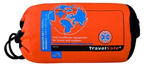 Travelsafe Mosquitera Triangular para Exteriores impregnada 1 pers TS117