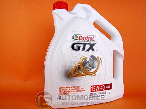 Castrol GTX Motorenöl 15W-40 A3/B3 5L
