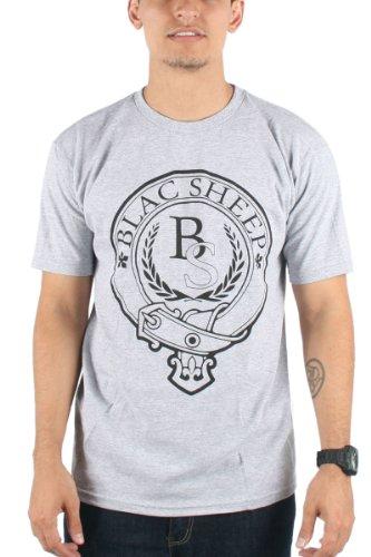 Blac Sheep - - Ceinture T-shirt à Heather Grey, Large, Heather Grey