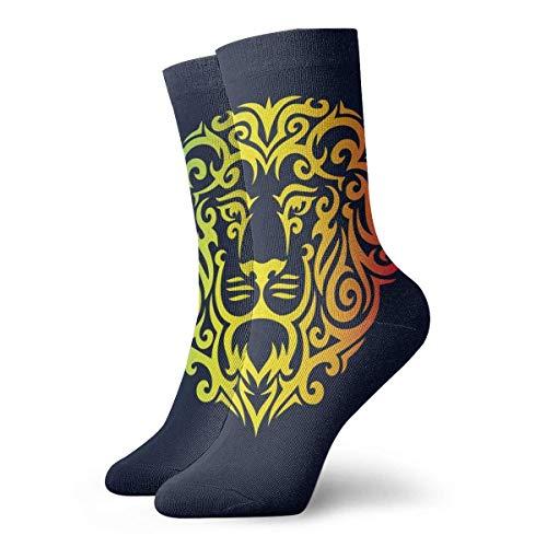 QUEMIN Len para tinta de tatuaje para hombres y mujeres Calcetines deportivos casuales Calcetines largos para correr Regalos Calcetines unisex Calcetines de sudor Calcetines transpirables