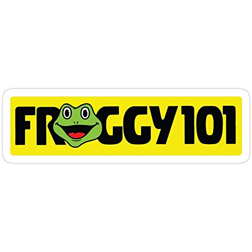 DKISEE Pegatina para coche The Office Froggy 101, The Office Vinilo calcomanía para parachoques de coche, ventana, teléfono, portátil, casco, consola de juegos de 6 pulgadas, juego de 3
