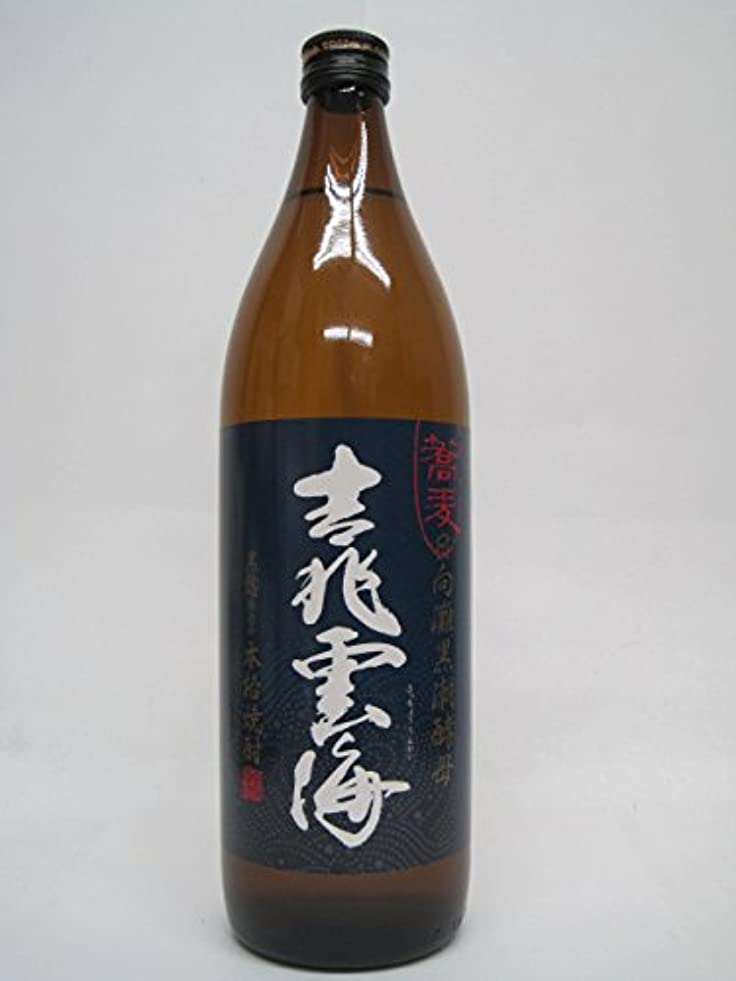 軽食蘇生するディスパッチ吉兆雲海 黒麹仕込み そば焼酎 25度 900ml