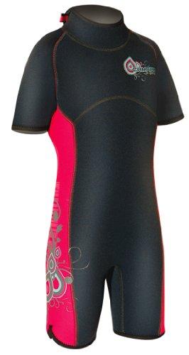 Camaro - Neopreno para Surf de Surf para niña, tamaño 164 UK, Color Negro