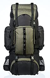 AmazonBasics Internal Frame with Rainfly Hiking Backpack