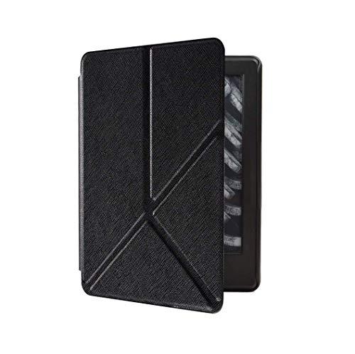 Capa Kindle 10ª geração com iluminação embutida – Auto Hibernação – Fecho Magnético – Origami - Preta
