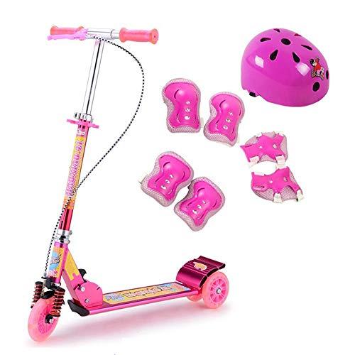 FOLDING Roller Roller Kinderroller Mein erster Roller Faltbarer 3-Rad-Kinderroller-Transformator für...