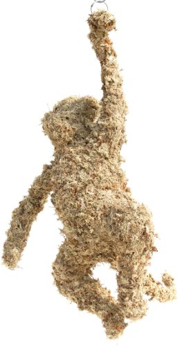 """Monkey Topiary (34"""") Sphagnum Moss Topiary Form"""