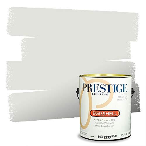 Prestige Interior Paint and Primer in One, Dove Gray, Eggshell, 1 Gallon