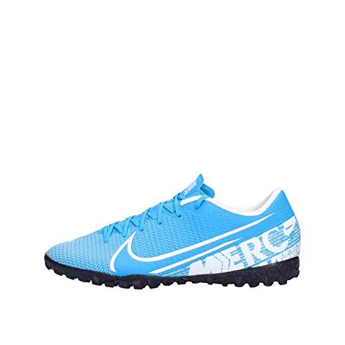 Nike Unisex-Erwachsene Vapor 13 Academy TF Fußballschuhe, Blau Blue Hero White Obsidian 414, 41 EU