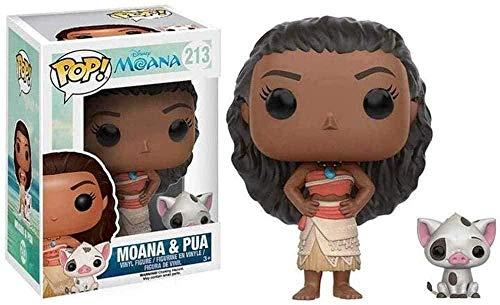 HJB Monana and Pua Pop Movies Moana Vinyl Landscape Decoration Ornaments - 10cm