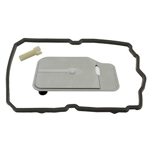 febi bilstein 44530 Getriebeölfiltersatz für Automatikgetriebe, mit Ölwannendichtung und Überlaufrohr , 1 Stück