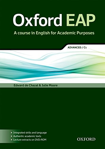 Oxford EAP: Advanced/C1: Student\'s Book and DVD-ROM Pack: A Course in English for Academic Purposes