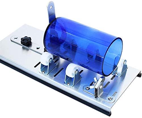 TRYSHA Glasflasche Cutter Edelstahl Einstellbare Flasche Cutter Werkzeug for Recycle-Bier-Wein-Flaschen-Gläser zu DIY Pflanzer Flasche, kreative Lampe, Kerzenständer Weinglasgestell hängen