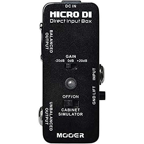 Mooer Micro DI Pedale D.I.