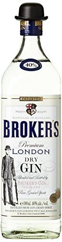 Brokers Gin Limited (1 x 1 l) Alkoholgehalt 40 % Vol