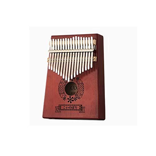 CHENTAOCS Vintage Kalimba Piano Thumb Piano 17 geluidskaart Kalinba Kalimba Piano Finger Piano. Geschikt voor beginners, professionele uitvoerders, het beste cadeau D