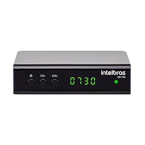 Conversor Digital de TV com Gravador CD 730, Intelbras, CD 730, Preto