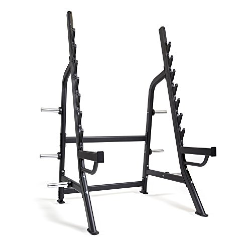 Bodymax Commercial Squat Rack Black