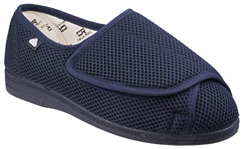 Mirak Wide Fit Summer Navy Size 9