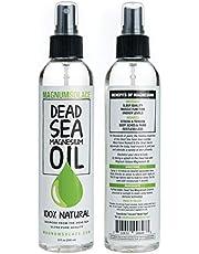 Olio Di Magnesio Al 100% E Minerali Naturali E Puri Del Mar Morto: Fonte Eccezionale N.1 - Fabbricato Negli USA (240 ml (8 oz))