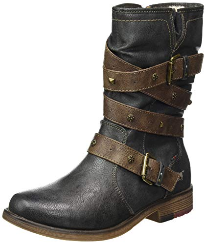 Mustang 1295-603-259, Bottines Femme, Gris Graphit 259,...