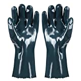 TENINYU BBQ Gloves Hot Food Gloves (1 Pair) Griller Insulated Heat-Resistant Neoprene Durable for Handling Hot Food Right Off BBQ Grill Meat, Steak, Turkey, Pulling Pork