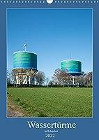 Wassertuerme im Ruhrgebiet (Wandkalender 2022 DIN A3 hoch): Wassertuerme weithin sichtbare Landmarken (Monatskalender, 14 Seiten )