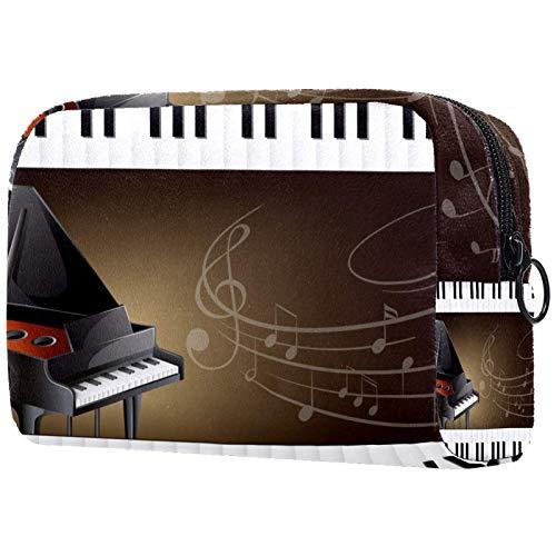 Yitian Piano de cola con teclados y notas musicales bolsa de