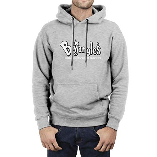Bojangles'-Famous-Chicken- Mens Hoodie Soft Kangaroo Pocket Long Sleeve Pullover
