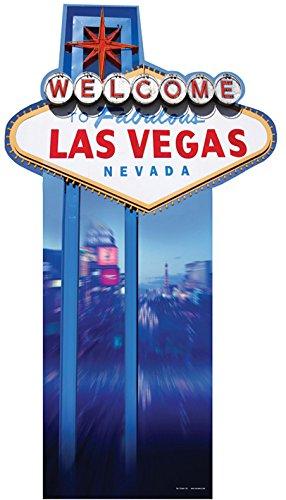 falksson Welcome to Fabulous Las Vegas PAPPFIGUREN LEBENSGROSSE