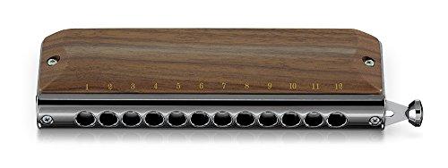 Suzuki Chromatic Harmonica Gregoire Maret Series Cover G-48 Holzabdeckung