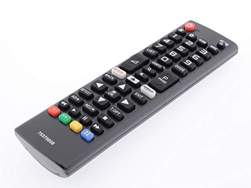 Frompt2y Mando a Distancia de reemplazo para Televisores LCD TV LG AKB75375608 75375608 [Sin Configuración o Programación ]
