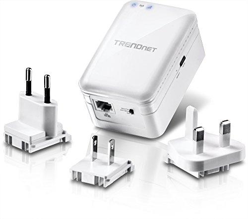 TRENDnet TEW-817DTR - Router de Viaje Wireless AC750, Modos WISP