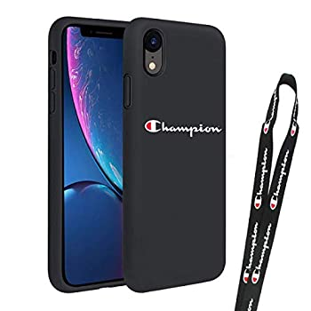for iPhone XR case - Street Fashion case +Lanyard Phone Case Cover for Apple iPhone  iPhone XR Champion
