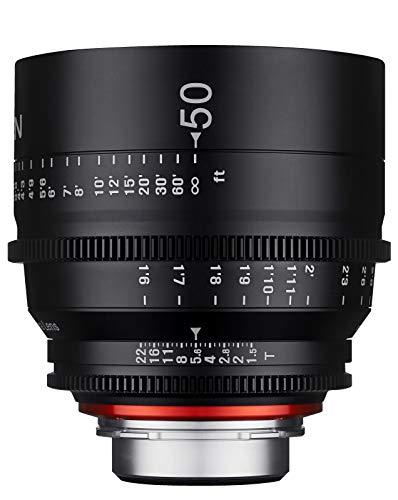 Samyang XEEN - Objetivo (50 mm, T1.5 FF, Cine SONY E)