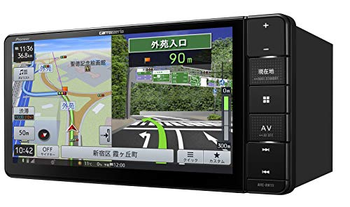 パイオニアカーナビカロッツェリア楽ナビ7型ワイドAVIC-RW111Bluetooth/USB/HD画質