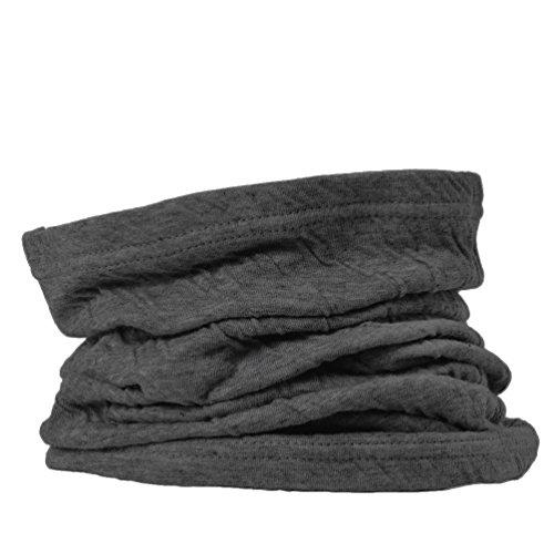 CHARM オーガニックコットン ネックウォーマー [ フリーサイズ/ダークグレー ] 3way 帽子 ヘアバンド 日本製