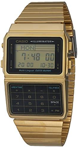 reloj dorado fabricante Casio