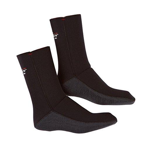 Alder Burn 4mm Wetsuit Socks 2020 - Black WAF12 9/10 UK