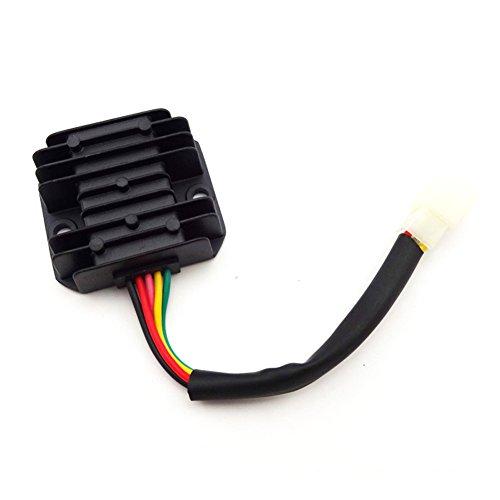 TC-Motor 5 Wire Pins Voltage Regulator Rectifier For GY6 50cc 70cc 90cc 110cc 125cc 150cc Engine ATV Quad Scooter Moped Go Kart