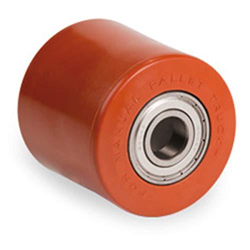Polyurethan Rolle Polyamidkern 82 x 60 mm mit Kugellager Bohrung 20