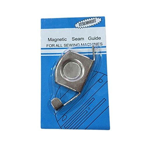 UU19EE Guía magnética de la Costura del Metal Accesorios industriales de la máquina de Coser del pie de la máquina de Coser