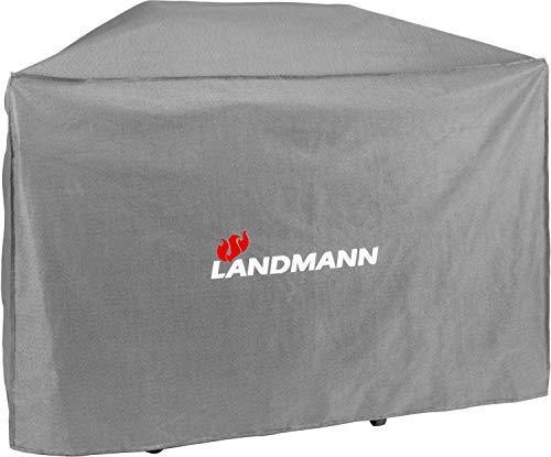 Landmann Premium Wetterschutzhaube | Aus robustem Polyestergewebe & Wasserdicht | UV-beständig, Atmungsaktiv & Kältebeständig | Geeignet für den Avalon PTS 3.1 [78,5 x 159 x 122 cm]