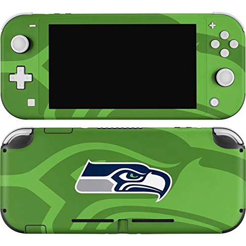 Skinit Decal Gaming Skin Compatible with Nintendo Switch Lite - Officially Licensed NFL Seattle Seahawks Double Vision Design