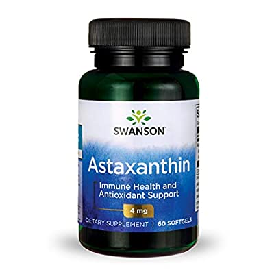 Swanson Astaxanthin Softgels, 4 mg, 60-Count