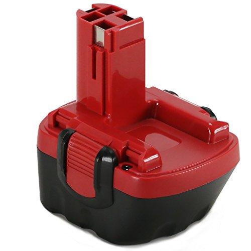 POWERAXIS 12V NIMH Ersatzakku PSR 12 für Bosch PSR 12 VE-2 PSR 12-2 GSR 12 VE-2 BAT043 2607335273 2607335261 2607335375 2607335541 2607335374 2607335709 2607335274 2609200306 2607335262