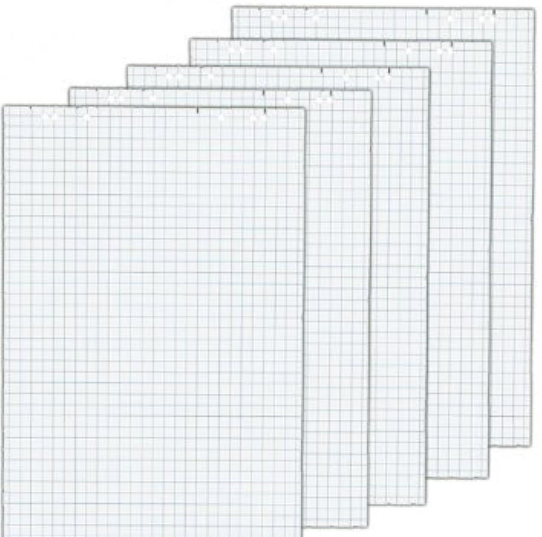 Herlitz 10834141 Flipchartblock, 68x99cm (kariert gelocht), 5 Blöcke (20 Blatt je Block) (4, Blöcke ohne Zubehör (je 5 im Karton)) B079NN7WL2  | Fairer Preis