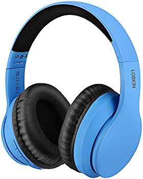 LOBKIN Over Ear Foldable Bluetooth Wireless Headphones with Microphone