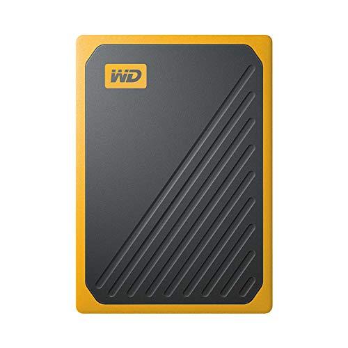 ウエスタンデジタル WD ポータブルSSD 1TB USB3.0 イエロー My Passport Go 外付け / 3年保証 【PS4 / Xbox Oneメーカー動作確認済】WDBMCG0010BYT-WESN